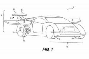 patente del coche volador.