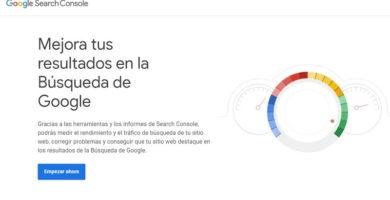 definición de Google Search Console.